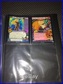 Dbz Ccg Score Dragonball 6 Star Ultra Rare Goku Vegeta Trunks Limited Edition