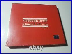 Depeche Mode Singles SEALED Limited Edition CD Brazil RARE- violator 101 ultra