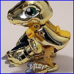 Digimon Limited Edition Gold WarGreymon Agumon Digivolve Bandai 1999 Ultra Rare