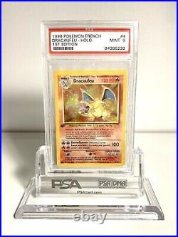 Dracaufeu PSA 9 Edition 1 Set De Base 4/102 Holo Rare PSA BGS PCA 1999