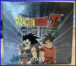 Dragonball Z Limited Edition Saiyan Booster Box. Dbz Ccg Score. Ultra Rare