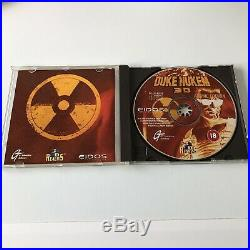Duke Nukem 3D Atomic Edition with ultra rare mouse mat PC Big Box