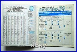 Empty Album Panini Football Argentina 78 Ultra Rare Yugoslavian Edition 1978
