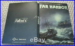 Fallout 4 Far Harbor Limited Edition Steelbook G1 Ultra Rare NO GAME