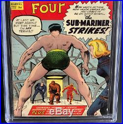 Fantastic Four #14 (1963) Cgc 5.5 Ow Ultra-rare Uk Price Variant 1 Of 1