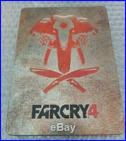 Farcry 4 Limited Edition Steelbook G1- Ultra Rare Ps4 Ps3 No Game
