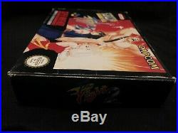 Final Fight 2 Snes PAL ESP Version! Ultra Rare To Find And Great Condition