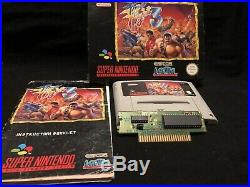 Final Fight 3 Snes PAL Version! Ultra Rare And Great Condition! 100% Original