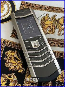 Genuine Vertu Signature S Stainless Steel The latest and last Edition Ultra RARE