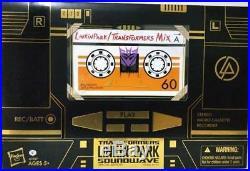 Hasbro Transformers Soundwave Linkin Park Figure Special Edition Ultra rare