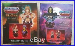 He-Man & Skeletor 2x Limited Edition 1/4 Scale Resin Statue, ultrarare