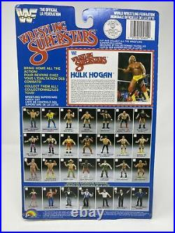 Hulk Hogan WWF LJN Wrestling Superstars MOC 1985 ULTRA RARE BLACK BACK EDITION