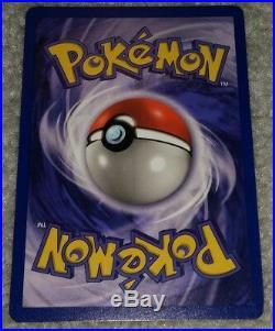 IVY PIKACHU PROMO ERROR 1st Edition Jungle Pokemon Card