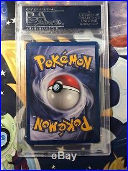 IVY PIKACHU PROMO ERROR 1st Edition Pokemon Card PSA NM-MT 8.5 POP 5