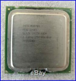 Intel Pentium 4 Extreme Edition 3,74 GHz (SL7Z4, 3,73 Ghz, 2M/1066) Ultra RARE