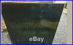 Iron Maiden BEST OF THE BEAST limited edition VINYL BOX SET. ULTRA RARE 4 LPS