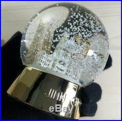 Jimmy Choo ULTRA RARE VIP Holiday Limited Edition Glass Snow Globe NEW withBox