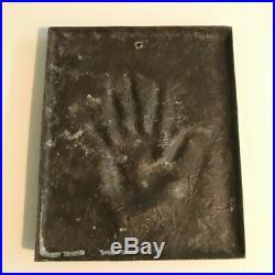 KYLIE MINOGUE Ultra Rare Bronze Resin Lifecast Handprint Edition 1/1 Produced