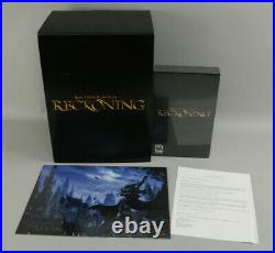 Kingdoms of Amalur Reckoning Ultra Rare PC Collector's Edition Signed 1/200 New