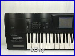 Korg Trinity BK Synthesizer in Very Good Condition Ultra-Rare Black Edition