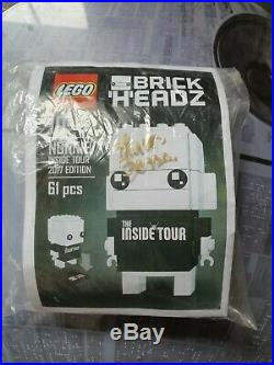 LEGO BrickHeadz Nonnie (Inside Tour 2017) Signed & Ultra Rare. Limited Edition