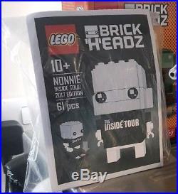 LEGO BrickHeadz Nonnie (Inside Tour 2017) Ultra Rare. Limited Edition No 5/80