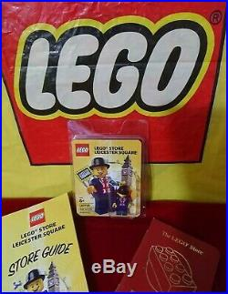 LEGO Leicester Square LESTER Limited Edition Minifigure 220 of 275 Ultra Rare