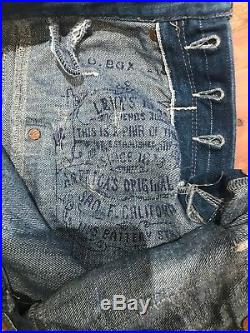 Levis Red Label Jeans 2009 Limited Edition ULTRA RARE Collectible S/M
