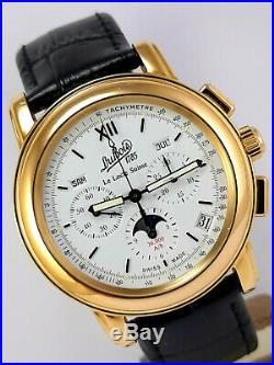 Limited Edition Dubois & Fils Chronograph Cal. 410 Zenith El Primero Ultra Rare