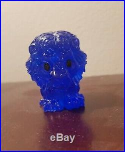 Limited Edition Ultra Rare Blue Sparkly Spirit Mufasa Lion King Ooshies