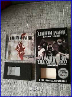 Linkin Park Hybrid Theory Ultra Rare South Korea Edition (cd + Ep + Lighter)
