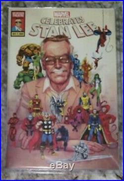 Marvel Celebrates Stan Lee Limited Edition Tribute Comic 10/7/2019 ULTRA RARE