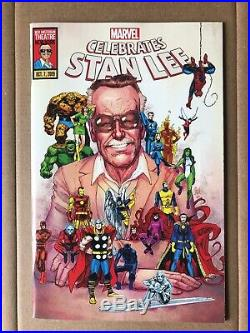 Marvel Celebrates Stan Lee Limited Edition Tribute Comic 10/7/2019 ULTRA RARE