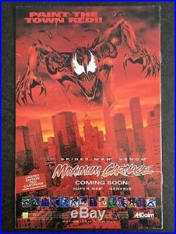 Maximum Carnage #1 Acclaim Variant 1994 Spider-Man VENOM ULTRA RARE MOVIE HOT