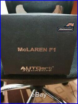 McLaren F1 short tail AUTOART signature edition magniseum silver ULTRA RARE76001