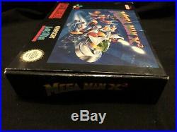 Mega Man X2 Snes! Pal Version! Ultra Rare And Great Condition! 100% Original