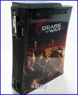 Microsoft Xbox 360 Pro Limited Edition Gears Of War 2 Game Console Ultra Rare