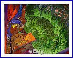 Moebius, Jimi Hendrix Box LIM Edition 500/212 Signed Ultra Rare
