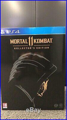 Mortal Kombat 11 PS4 Kollectors Edition Box Set, Coin, Mask, Ultra Rare