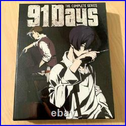 NEW 91 DAYS Limited Edition Anime Blu-Ray/DVD Collector Boxset OOP ULTRA RARE
