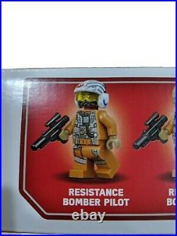 NIB LEGO Star wars 75188 Resistance Bomber ULTRA RARE FINCH DALLOW Version