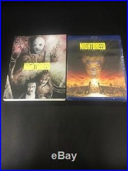 NIGHTBREED CABAL CUT BLU RAY With SLIP LIMITED EDITION FACTORY SEALED ULTRA RARE