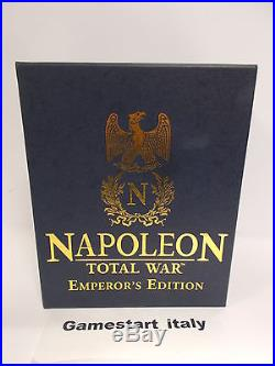 Napoleon Total War Emperor's Edition Pc Nuovo Sigillato New Ultra Rare