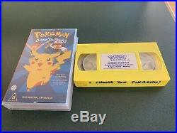 Nintendo 64 Boxed Pokémon Edition RARE. With Ultra RARE Promo Sleeve. VHS