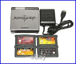 Nintendo Gameboy Advance SP Kingdom Hearts Edition PAL Console Bundle ULTRA RARE