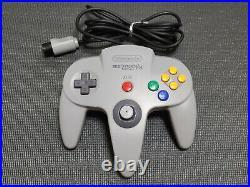 Nintendo Hyundai Comboy 64 Gray Controller #1 Korean Version Pad N64 Ultra Rare