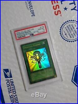 PSA 10 GEM MINT Monster Reborn (Glossy) (LOB-118) 1st edition ultra rare