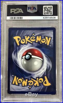 PSA 10 GEM MINT Pokemon Water Energy 102/102 1999 Base Set 1st Edition