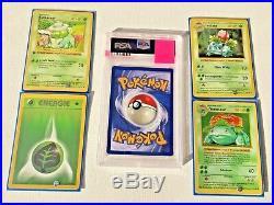 PSA 10 Venusaur 1st Edition Shadowless Base Set Pokemon Card GEM MINT WOTC Grade