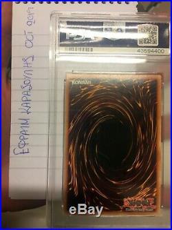 PSA 9 MINT Dark Magician LOB-E003 1st Edition